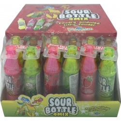 Sour Bottle 4-MIX Dipslay 12 pcs