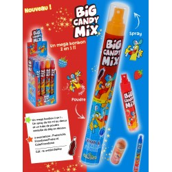 BIG CANDY MIX Display 16 pcs