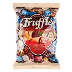 ELVAN Truffle 1000g x 8pcs Quadro MIX / Bonbons Truffle Assorties