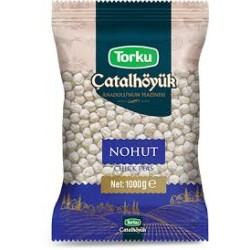 TORKU Catalhoyuk Nohut 8.5mm 1000 gr x 12 pcs / Pois Chiches