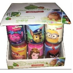 FUN and FRUITY Bouteille Licence  Frozen & Cars x18pcs