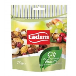 TADIM Cig karisik kuruyemis naturel 75gr x 12pcs / Melange de fruits secs naturel