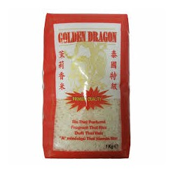GOLDEN DRAGON Riz Long Parfumé 1kg x 10sacs