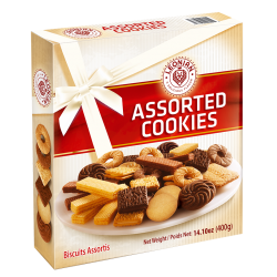 LEONIAN Assortiments de Biscuits 400gr x 10pcs