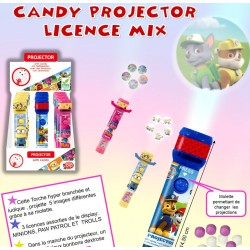 CANDY PROJECTOR MIX x 6